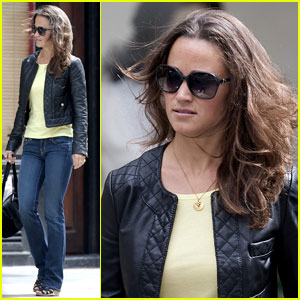 Pippa Middleton: Leather Lady in London