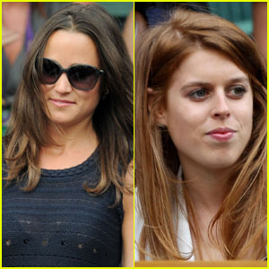 Pippa Middleton & Princess Beatrice: Wimbledon Women