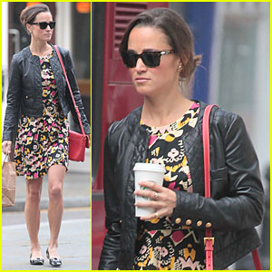 Pippa Middleton: Starbucks Stop