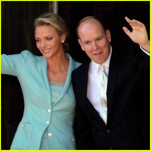 Monaco's Prince Albert Weds Charlene Wittstock!