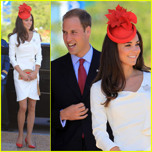 Prince William & Kate Celebrate Canada Day