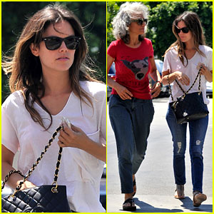 Rachel Bilson: Home Depot with Mom Janice!