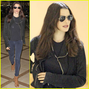 Rachel Weisz: Shady Lady at LAX