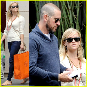 Reese Witherspoon & Jim Toth: Honeymoon in Paris!