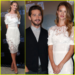 Rosie Huntington-Whiteley: 'Transformers' in China!