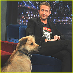 Ryan Gosling & George Visit Jimmy Fallon