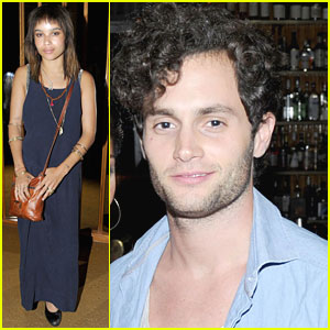 Zoe Kravitz & Penn Badgley: 'Friends