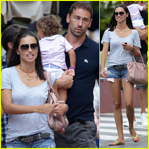 Adriana Lima: Family Fun in