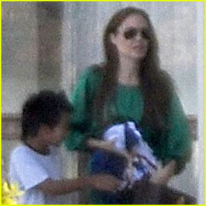 Angelina Jolie & Maddox: Bye, Brijuni!