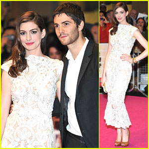 Anne Hathaway: 'One Day' UK Premiere with