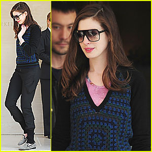Anne Hathaway is Loving London