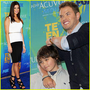 Ashley Greene - Teen Choice Awards with Kellan Lutz!