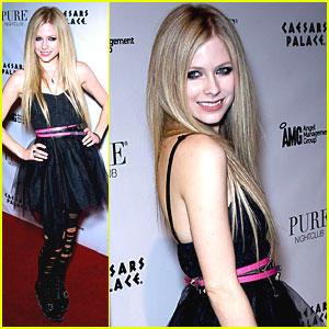 Avril Lavigne: Abbey Dawn After Party!
