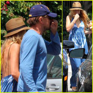 Leonardo DiCaprio: Umami Burger with Blake Lively!