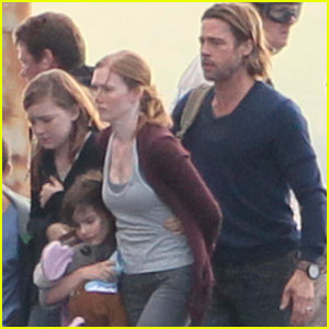 Brad Pitt: Filming 'World War Z'