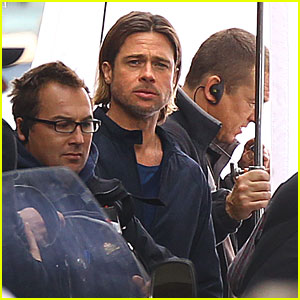 Brad Pitt: Glasgow Becomes Philadelphia