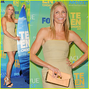 Cameron Diaz - Teen Choice Awards 2011!