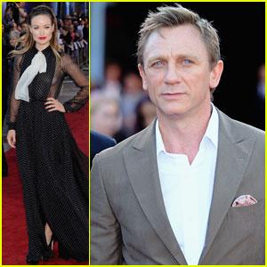 Daniel Craig: 'Cowboys & Aliens' U.K. Premiere!