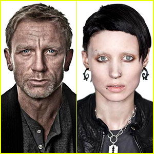 Daniel Craig &#038; Rooney Mara: 'Dragon Tattoo' Character Portraits!