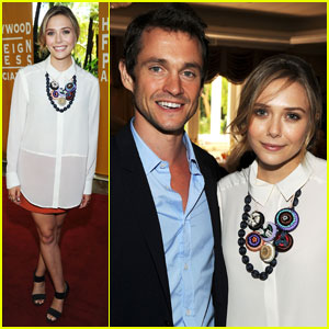 Elizabeth Olsen: HFPA Luncheon with Hugh Dancy!