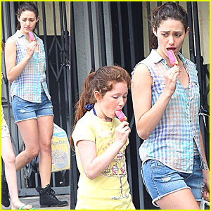 Emmy Rossum: Shameless Scenes for Season 2!