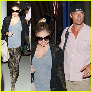 Fergie & Josh Duhamel: LAX Lovebirds!
