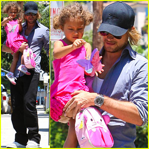 Gabriel Aubry &#038; Nahla: Schooltime Pickup!