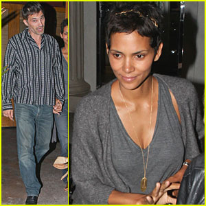 Halle Berry & Olivier Martinez Make it a Nobu Night
