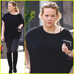 Hilary Duff Leaves 'Bonnie & Clyde'?