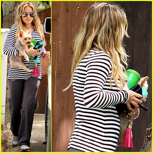 Hilary Duff: Visible Baby Bump!