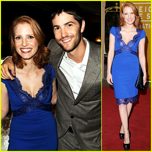 Jessica Chastain & Jim Sturgess: HFPA Luncheon