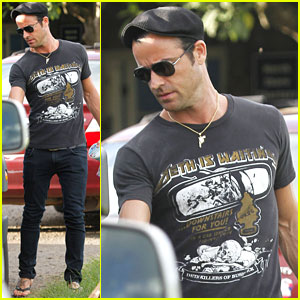 Justin Theroux: Happy 40th Birthday!