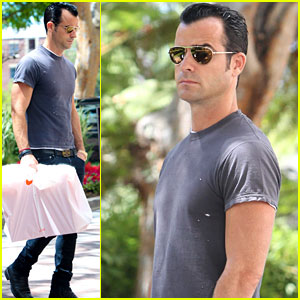 Justin Theroux: Shopping in Beverly Hills!