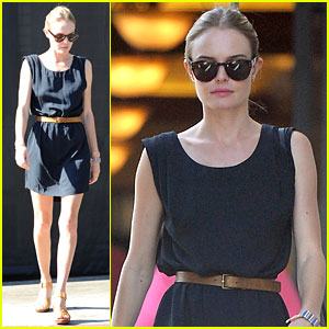 Kate Bosworth: Little Dom's Lunch with Cher Coulter