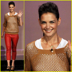 Katie Holmes: I'm Really Scared of Raccoons!