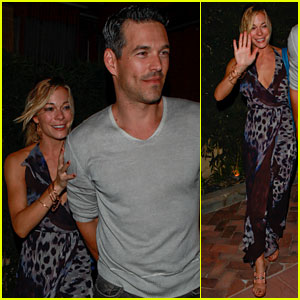 LeAnn Rimes: Birthday Dinner with Eddie Cibrian!