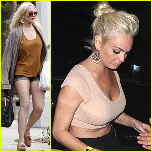 Lindsay Lohan: Surfer Girl!