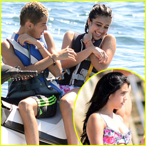 Lourdes Leon: Jetski with a Mystery Guy!