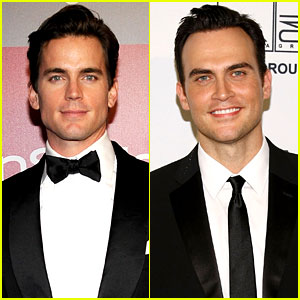 Matt Bomer & Cheyenne Jackson: Husbands in '8' Play!