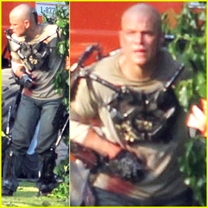 Matt Damon: 'Elysium' Action Scene!