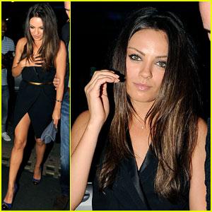 Mila Kunis & Justin Timberlake: Nobu Night in London
