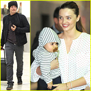 Miranda Kerr &#038; Flynn: Melbourne Arrival!