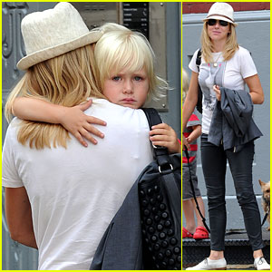 Naomi Watts: Afternoon with Sasha!