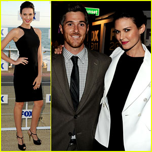 Odette & Dave Annable: Fox All Star Party!