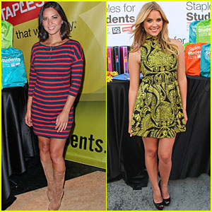 Olivia Munn & Ashley Benson Do Something After TCAs!