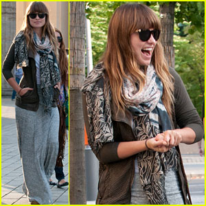 Olivia Wilde: Sightseeing in Berlin!