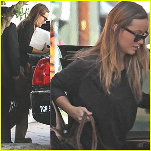 Olivia Wilde: Studio on Saturday