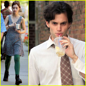 Penn Badgley: 'Tim Buckley' Set with Imogen Poots!