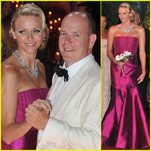 Prince Albert & Princess Charlene: Red Cross Ball!