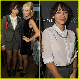 Rashida Jones Interview - JustJared.com Exclusive